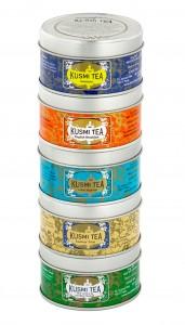 Miniaturkollektion von Kusmi-Tea