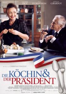 Filmplakat: Die Köchin und der Präsident