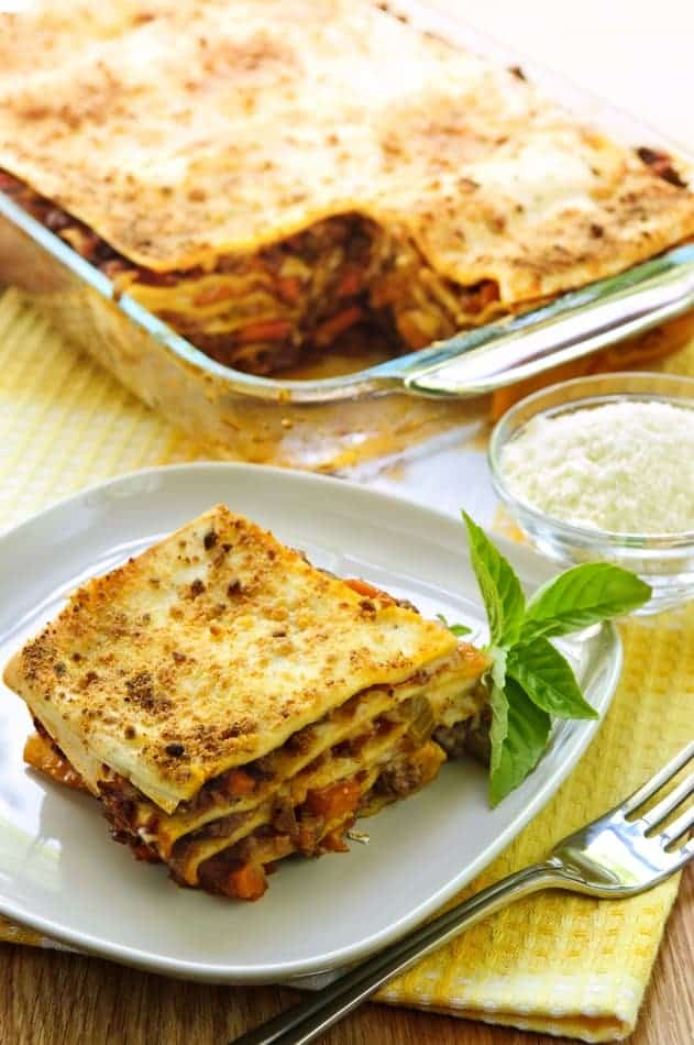 ... ii american lasagna recipes dishmaps easy american lasagna lasagna 520
