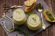 Bärlauch-Schaum-Suppe