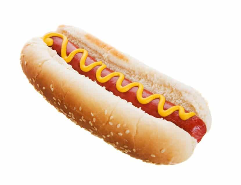 Dänischer Hot Dog rod polse