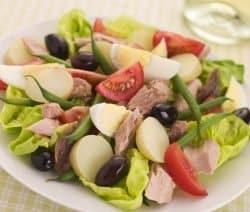 Nizza Salat Nicoise mit Thunfisch