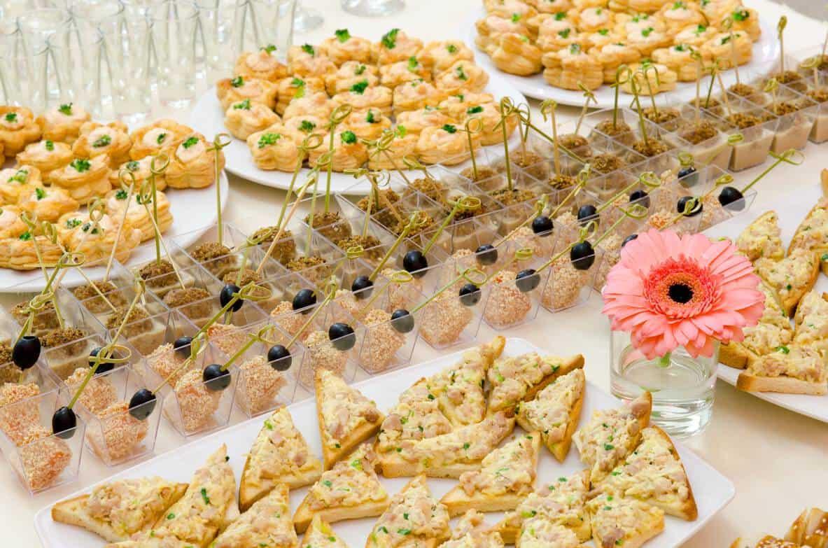 Party-Fingerfood-Büfett für jeden Anlass