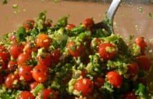 Tabouleh - Libanesischer Bulgur Salat