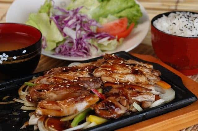 Teriyaki-Asiatisches Hühnchen