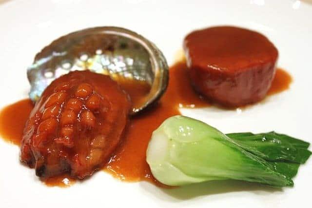 Abalone (Seeohren, Irismuscheln) Schnecken