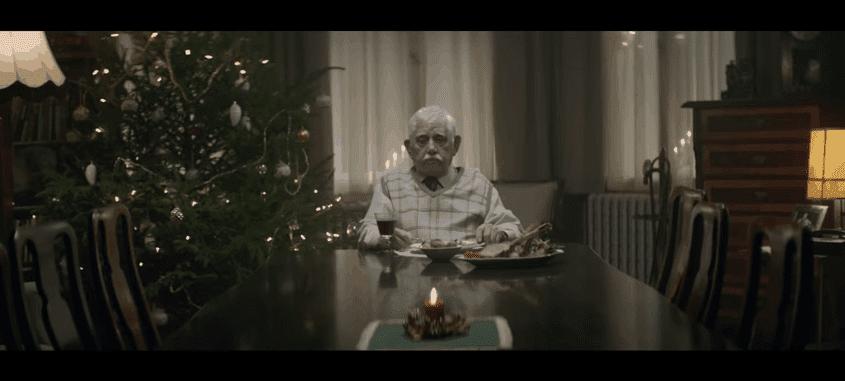 alter, einsamer mann