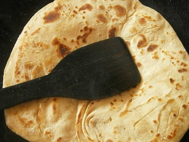 Indisches Fladenbrot Chapati