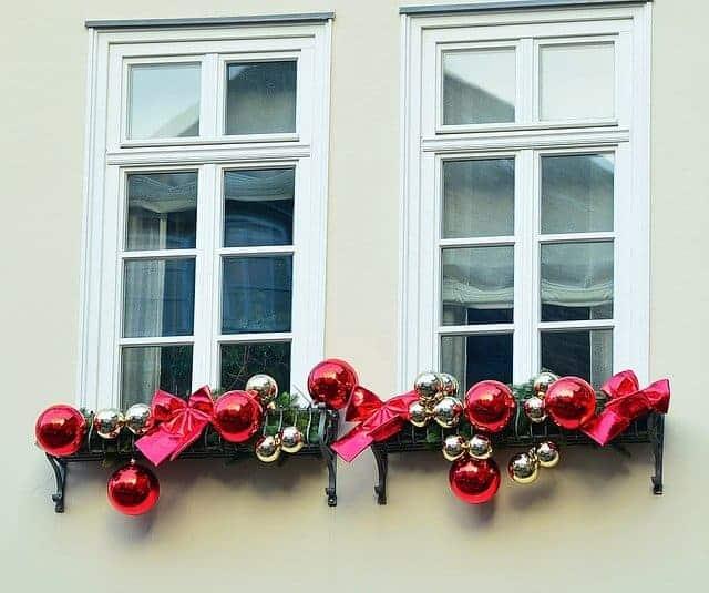 weihnachtlichsdeko f r die fensterbank gekonnt gekocht. Black Bedroom Furniture Sets. Home Design Ideas