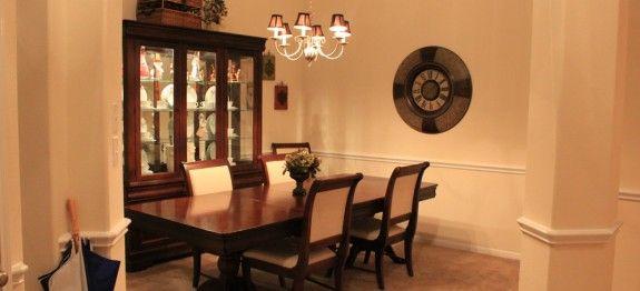 Eine optimale Lichtgestaltung im Esszimmer