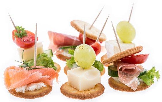Fingerfood für Stehempfang