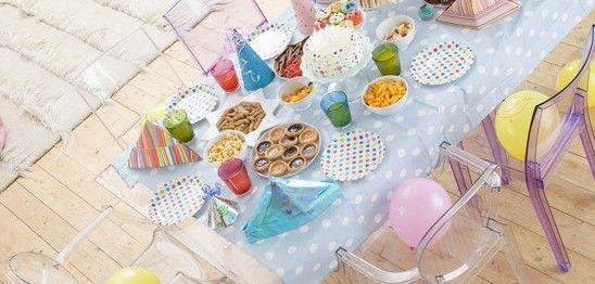 Geburtstagsparty Tischdeko