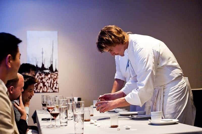 """Achatz' eigenes Restaurant, das """"Alinea"""", in Chicago, gehört zu den Besten der Welt."""