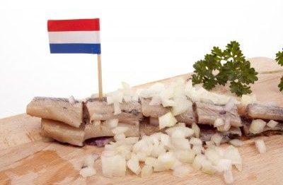Typisch holländischer Matjes