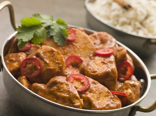 Das indisch-britische Nationalgericht Chicken Tikka Masala