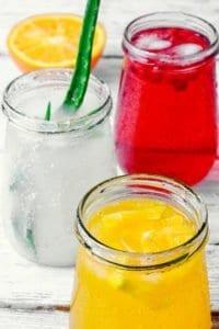 Fruchtig-frische, vitalisierende Drinks mit Aloe Vera
