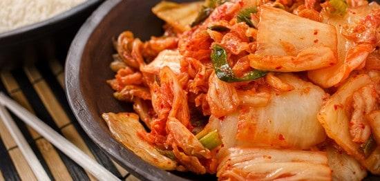 Koreanisches Kimchi Gemüse