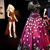 Kleid aus Plätzchen