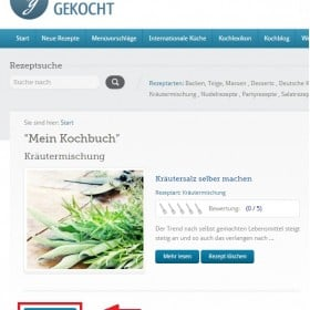 Kochbuch Download