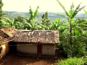 Wohnhaus in Uganda
