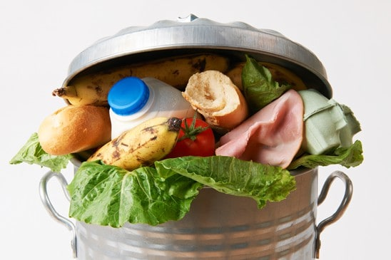 Kampf der Verschwendung von Lebensmitteln