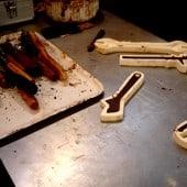 Werkzeug aus Schokolade